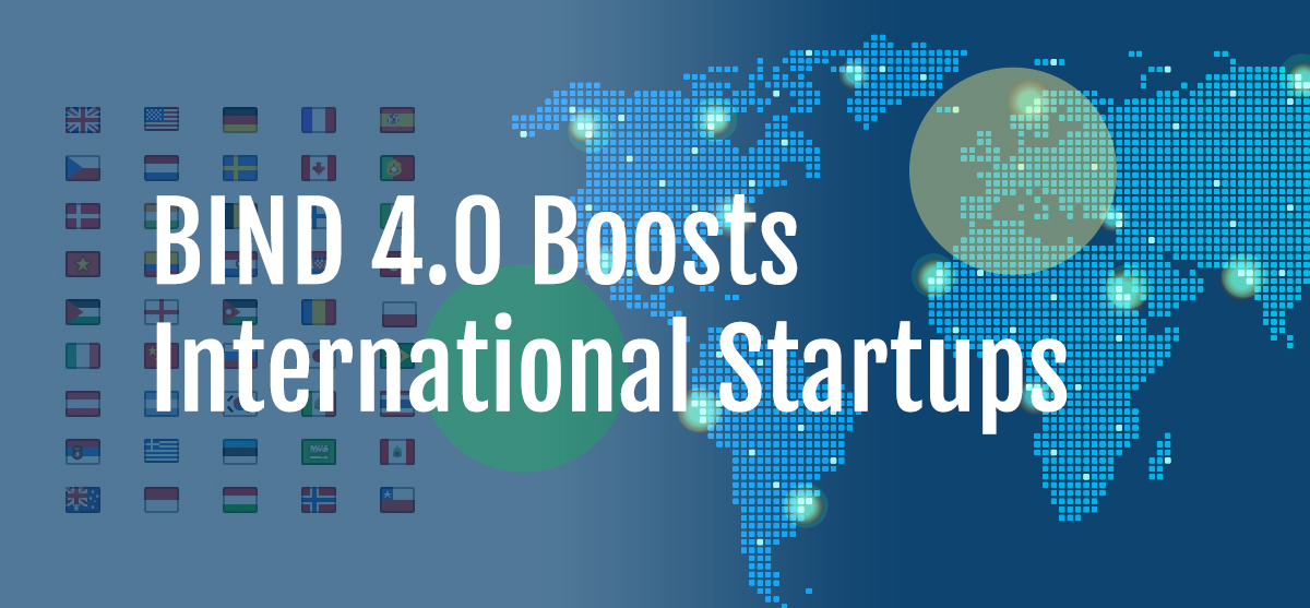 BIND Boosts International Startups